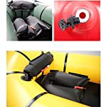 JNWEIYU Inflatable Kayak,Standard Single Boat Without Pulp, Can Be Used for White Water Level 3 Adventure Rafting… 11 LARGE LOAD: This kayak can bear 150 kg weight, enough for 1 persons operate, enough space and convenient to use. Made of high quality thicken PVC material which has 0.3mm thickness, can resist tear, high strength, not easy to be damage. INFLATABLE DESIGN: The inflatable design make it convenient to store when not use, double valve help to finish inflating quickly.