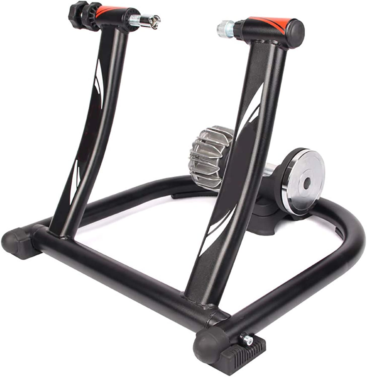 Fluid Bike Trainer, Riser Block and Sweat Net Bicycle Indoor Exercise Trainer Stand