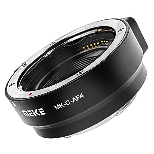 MEIKE MK-C-AF4 Anello adattatore da Canon EF e EF-S a EOS M