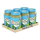 Naturnes BIO Tarritos carne Nestlé Brocoli Guisantes Pavo 190g - Pack de 6