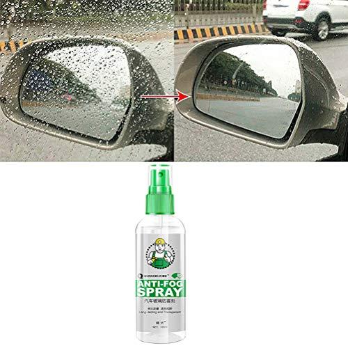 Antibeschlag Spray Brillen 105ml Anti Fog Sprüh Fenster Auto Glas Schutzmittel Antiblock Regenschutzmittel Pflegemittel für Brillen Skimasken Spiegel und Windschutzscheibe