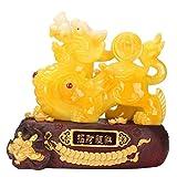 Decoración de Buda Feng Shui Pi Yao/Pi Xiu Riqueza Porsperity Estatua Feng Shui decoración del hogar de la Mascota Decoración Feng Shui