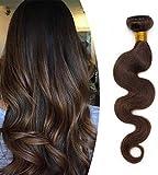 Hair Extensions Real Human Hair Bundles Weaves - 100% Remy Hair Body Wave