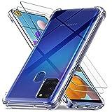 Ferilinso Hüllen für Samsung Galaxy A21S mit 2 Pack