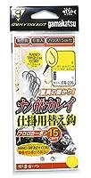 がまかつ(Gamakatsu) 糸付ナノ船カレイ仕掛用替え鈎(ナノスムースコート) FR-226 12-4