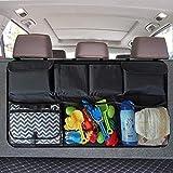Wellkool Car Trunk Organizer, Backseat Hanging Organizer with 8 Large Storage Bag -Trunk Organizer for SUV,Truck,Van -Your Space Saving Expert