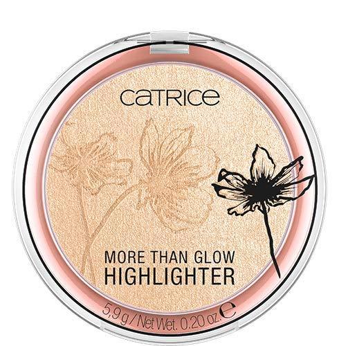 Catrice More Than Glow Highlighter, Nr. 030 Beyond Golden Glow, gold, intensiv, metallisch, schimmernd, vegan, Nanopartikel frei, ohne Parfüm, 3er Pack (3 x 5,9g)