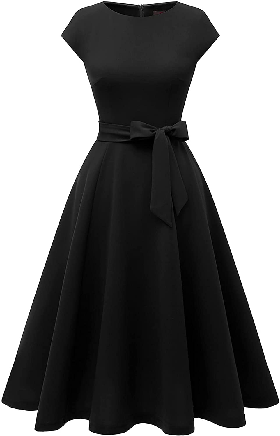 Women Casual Dresses Swing Tea Limited time trial Max 69% OFF price Mid Dress Cocktail A-Line Vintage