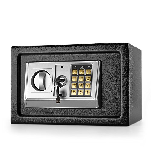 Flexzion kluis met elektronische tank met druppelopening, digitaal toetsenbord, cijferslot