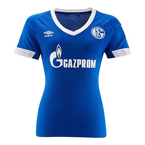 Umbro Damen FC Schalke 04 Home 2018/2019 Trikot, blau, 38 EU