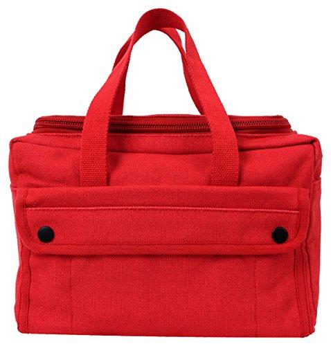 Rothco Wide Mouth Mechanics Tool Bag, Red