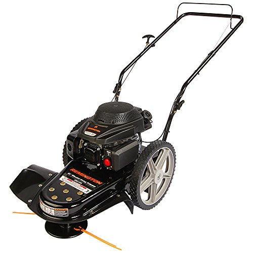 Remington RM1159 159cc 4-Cycle Gas Powered Walk-Behind High-Wheeled String Trimmer - 22-Inch...