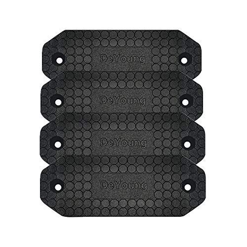 DeYoung Gun Magnet 4-Pack,46lbs Rated Magnetic Gun Mount, Anti Scratch HQ Rubber Coated Concealed Firearm Holder for Rifle Pistol Magazines in Vehicle Truck Car Wall and Desk (4)