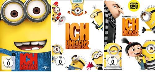 Ich - Einfach unverbesserlich 1+2+3 im Set - Deutsche Originalware [3 DVDs]