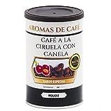 Aromas de Café - Café con Agradable Sabor a Canela y Ciruela 100% Arábica Tostado Molido, 100 gr