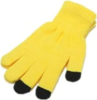 Women's warm knitted touch screen/texting winter gloves - not too bulky