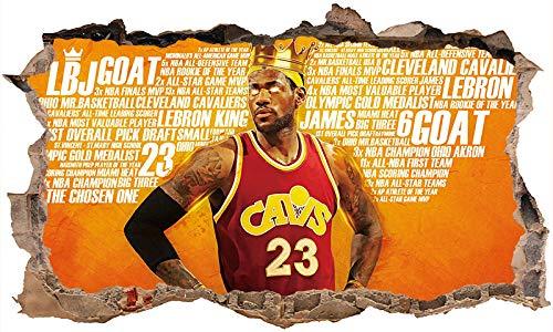 Nensuo 3D York Knicks NBA Basketball Home Decor Art Wall Vinyl PVC Sticker 60 * 90CM-B_60*90CM