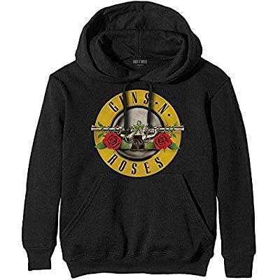 Guns N Roses Classic 80s Logo Hoodie for Men