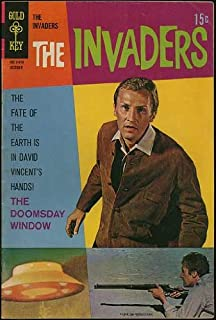 The Invaders Television Show (Gold Key Comic #4) October 1968
