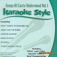 Daywind Karaoke Style: Carrie Underwood Vol. 1 by Carrie Underwood