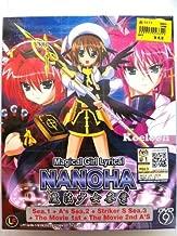 Magical Girl Lyrical Nanoha DVD (Season 1 - 3) + 2 Movie (English Subtitle)