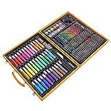 Infantiles Pluma de la Pintura de Pincel de Acuarela Papel Set Tool Box 150 Unidades Estudiante para Artistas Profesionales y Principiantes