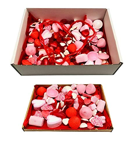 Pick N Mix Valentine Sweets Box Sweet Hamper Valentines Candy Gift - 200g 300g or 1kg (1kg)