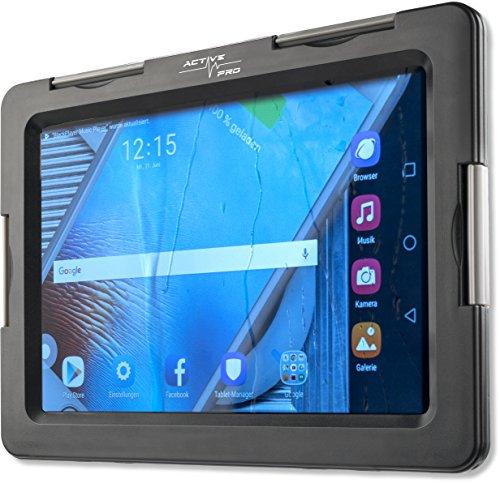 4smarts 467274 Active Pro Seashell Wasserfeste Tasche für Tablet, 20,32-25,4 cm (8-10 Zoll) schwarz