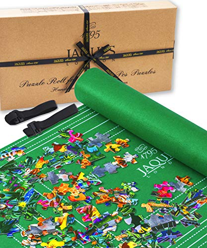 Jaques Von London Puzzlematte | Puzzlematte 1500 Teile | Qualität Puzzle Matte Roll Und Puzzle-Zubehör | Seit 1795