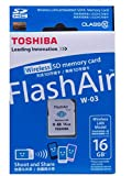 Toshiba SD FA Class 10 16GB Wireless SDHC Card