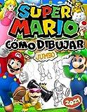 Cómo Dibujar Super Mario: Super Mario 2 En 1 Edición: Guía De Dibujo Fácil Paso A Paso Y Libro...