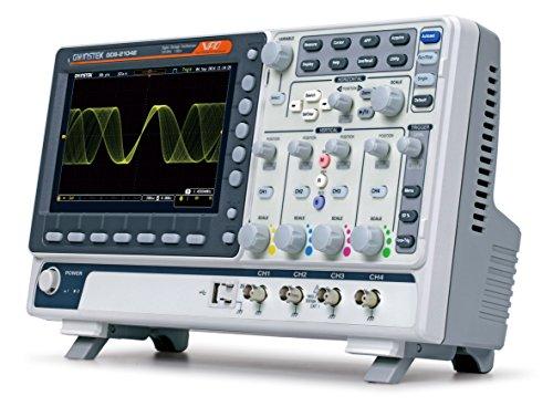 GW Instek GDS-2204E Visual Persistce digitale geheugen-oscilloscoop met USB-poort, 20,3 cm groot LCD-kleurendisplay, bandbreedte 200 MHz, 4-kanaals stijgtijd 1,75 ns