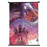 30x45cm(12 x 18 in)-RWBY-Anime Fabric Wall Scroll Poster