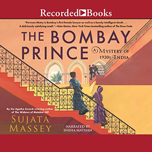 The Bombay Prince Audiobook By Sujata Massey cover art
