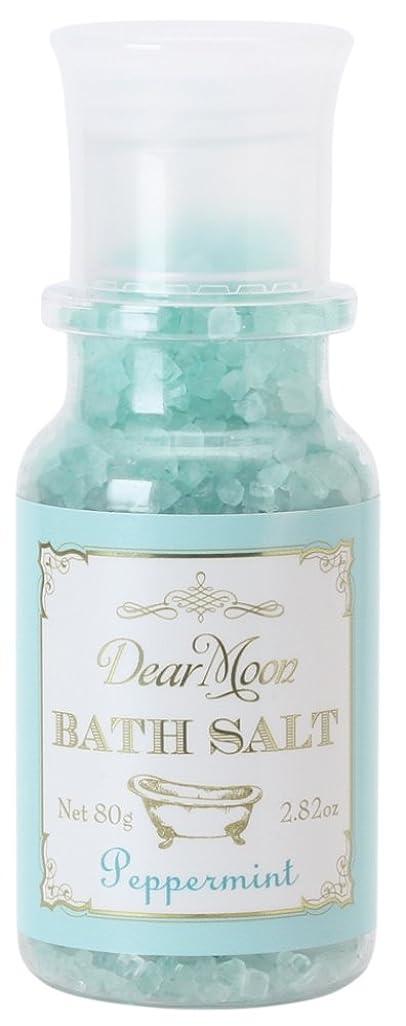 勤勉な我慢するキリストノルコーポレーション 入浴剤 ディアムーン バスソルト 80g ペパーミント OB-DMB-1-8