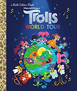 Trolls World Tour Little Golden Book (DreamWorks Trolls World Tour) by [David Lewman, Golden Books]