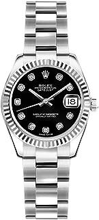 Rolex Lady-Datejust 26 179174 Black Dial on Oyster Bracelet Luxury Watch