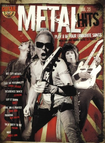 Guitar Play-Along Volume 35: Metal Hits (Book And CD). Für Gitarre, Gitarrentabulatur
