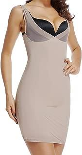 Full Slips for Under Dresses Women Tummy Control Slip Shapewear Slimming Body Shaper Slip
