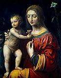 Bernardino Luini – Virgin and Child by Bernardino Luini