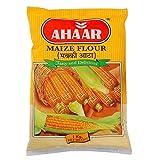 Ahaar Maize Flour (Makki Atta, Corn Flour) 1 KG