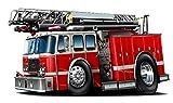 MM Firetruck 2014 Wall Decal Fire Truck...