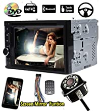 Car CD DVD Stereo 6.2 inch for 2007-2009 Mazda CX-7 Bluetooth HD MP3 Player Screen USB Mirror Link from Phone Radio in Dash FM&AM Steering Wheel Control and Back Up Camera