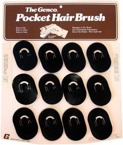 Genco Pocket Brush Easel Display (12 Piece) Black