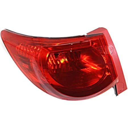 02 03 04 IMPALA DRIVER SIDE TAIL LIGHT TAIL LAMP QTR MTD THRU VIN 49209453 W//B