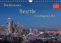 Eine Reise nach Seattle (Wandkalender 2022 DIN A4 quer): Seattle, groesste Stadt des Nordwestens der USA. Vielfaeltig, gruen und industriell. (Geburtstagskalender, 14 Seiten )