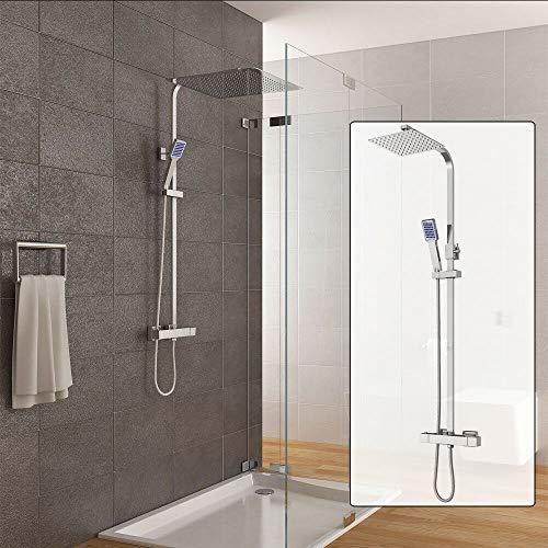 Conjunto de ducha de diseño moderno sistema de ducha con ducha de lluvia y ducha de mano ducha para baño ducha de cobre