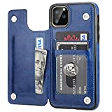 iPhone 11 Pro Max Wallet Case with Card Holder,OT ONETOP PU Leather Kickstand...