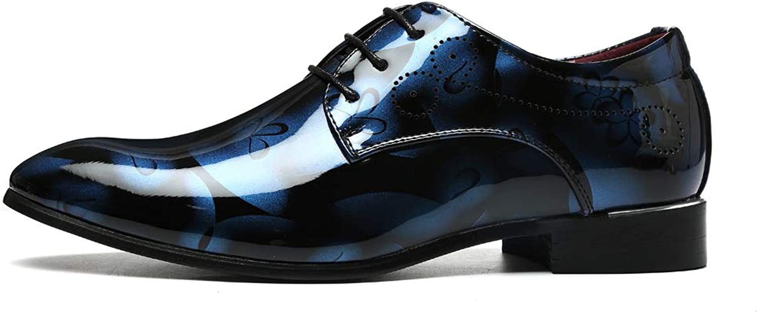 TYX-SS Men'S Extra Large Code shoes Fashion Tide shoes Lacquer shoes