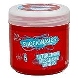 Wella Shockwaves Ultra Strong Hold 5 Creme Gel 3er, (3 x 150ml)
